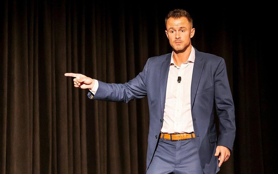 How I Became a Professional Speaker
