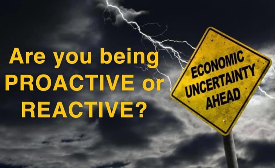 PROACTIVE or REACTIVE?