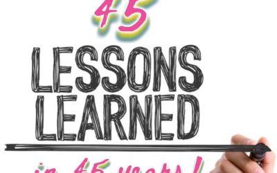45 Impactful Lessons
